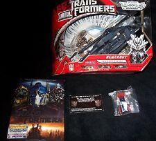 Transformers RARE Movie TAKARA BLACKOUT DVD MINI OPTIMUS PRIME PINS