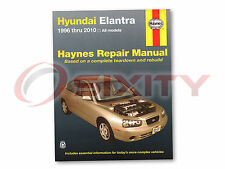 For Hyundai Elantra Haynes Repair Manual GLS GT Limited Blue Touring SE Base fh
