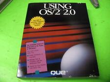 USING OS/2 2.0 STEP BY STEP GUIDE TO OS/2 VERSION 2.0 QUE BOOK
