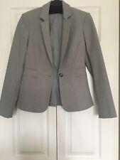 Express Light Gray Suit Jacket Sz 0