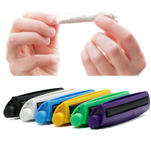 Portable Cigarette Rolling Machine Joint Cone Plastic Maker Roller Tool UK
