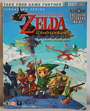 The Legend of Zelda the Wind Waker Official Strategy Guide + Stickers