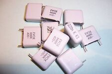 0.22uF 220nF 400V High Quality  Polyester Capacitors Evox  SPECIAL OFFER Qty.10