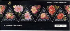 Albania 2004. ALBANIAN FLORA - DAHLIA, FLOWER. Set Sheet MNH
