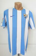 MALAGA SPAIN 2015/2016 HOME FOOTBALL SHIRT SOCCER JERSEY CAMISETA MAGLIA NIKE L