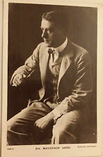 Pre - WW1 RP Theatre Postcard: ACTOR - MATHESON LANG (Posted with stamp)