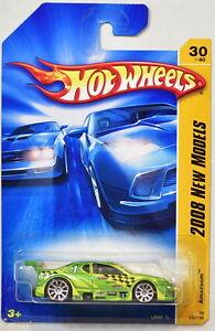 Hot Wheels 2008 Neuf Modèles Amazoom # 30/40 Vert
