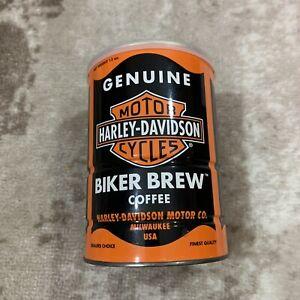 Harley Davidson Coffee Genuine Biker Brew Vintage 13 oz SEALED