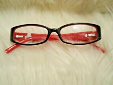Vivid Boutique VIVID Boutique Petite 6004 Eyeglasses Scarlet Black Flower New