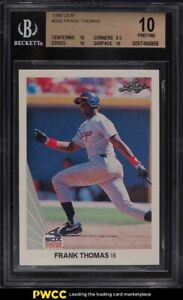1990 Leaf Frank Thomas ROOKIE RC #300 BGS 10 PRISTINE