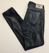 True Religion Skinny Jean Size 27 Low Rise