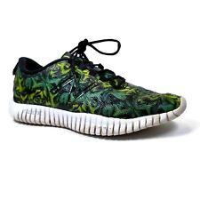 New Balance Flexonic Green Yellow Tropical Running Shoes Sneaker Womens Sz 8.5 B