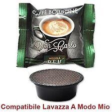 BORBONE  200 CAPSULE DON CARLO CAFFE' BORBONE MISCELA DEK compatibili A MODO MIO