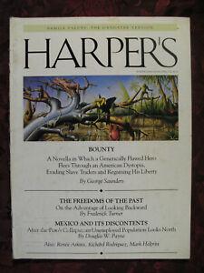 HARPERs Magazine April 1995 Frederick Turner Douglas W. Payne George Saunders