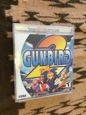 Gunbird 2 (Sega Dreamcast, 2000) - Complete with manual - Tested and Works