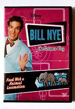 Disney Bill Nye The Science Guy Food Web & Animal Locomotion Educational DVD