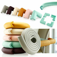 Baby Soft Safe Corner Edge Protector Rubber Foam Table Desk Corner Safety Guards
