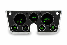Chevy Truck DIGITAL DASH PANEL FOR 1967-1972 Gauges GMC Intellitronix GREEN LEDs