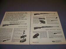 VINTAGE..1972 WINCHESTER MODEL 70A/670 ..ORIGINAL SALES ADS...RARE! (271M)