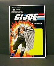 """Custom GI Joe blister and package for """"SUPER TROOPER"""" from 1988 mailaway promo"""