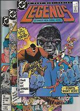 Legends #1,2,3,4,6 (1987) 1st modern Suicide Squad, Amanda Waller app. FN/VF