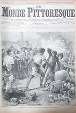 Le Monde Malerisches Nr. 141 von 1885 Mexico Fete der Landhaus die Herramienta