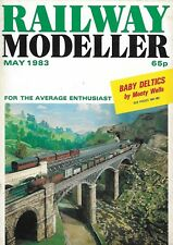 *RAILWAY MODELLER MAGAZINE - MAY 1983 - ft MIDLAND RS'S MILLERS DALE [NB]
