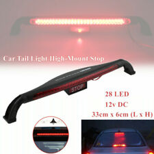 1*Universal Lamp Red 28 LED 12V Car Trucks Brake Rear Tail light High Mount Stop