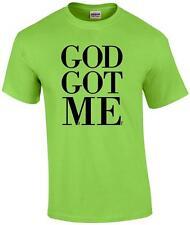God Got Me Christian Religious Jesus Christ T-Shirt