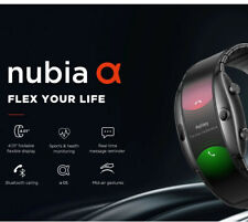 "Nubia Alpha ZTE 4"" inch OLED Flexible Wrist Mobile Smartphone Watch"
