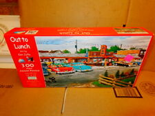OUT TO LUNCH ART BY KEN ZYILA 300PCS SEALED PUZZLE 16X26