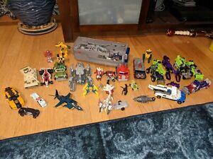 Transformers AUTOBOT Decepticon Devastator Optimus Prime Centinel Tomy Lot