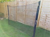 FOOTBALL BALL STOP NETTING SET MULTI USE PORTABLE SOLO PRO SOCCER GOAL TRAINING