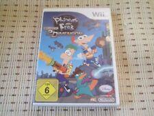 Phineas und Ferb Quer Durch Die 2´Dimension für Nintendo Wii *OVP*