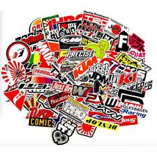 100pcs Jdm Stickers Pack Car Motorcycle Racing Motocross Helmet Atv Vinyl Decals