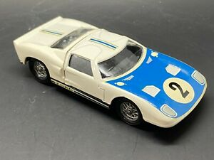 SOLIDO 146 FORD LE MANS, WHITE BODY, RACING NO 2, BLACK INTERIOR, MINT