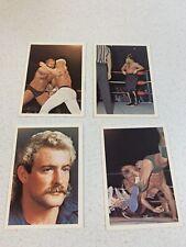Nwa Wrestling Cards-1988 Wonderama Lot Of 4