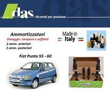 4 AMMORTIZZATORI DAMPO FIAT PUNTO 55 - 60 DAL 1993 AL 1999  MADE IN ITAY NUOVI