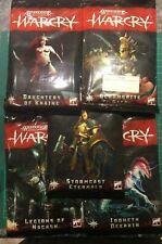 Warhammer Warcry Warband Cards BNIB OOP