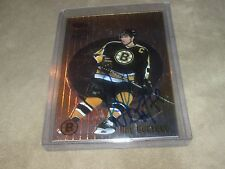 1999 BOWMAN BEST RAY BOURQUE AUTOGRAPH FROM PACK ON CARD