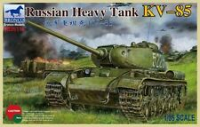 1/35 Bronco 35110 - WWII Russian Heavy Tank KV-85 Plastic Model Kit
