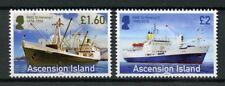 Ascension Island 2018 MNH RMS St Helena I & II 2v Set Boats Ships Stamps