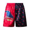 Adelaide Crows AFL AF8470 Mens Team Logo Printed Satin Boxer Shorts New