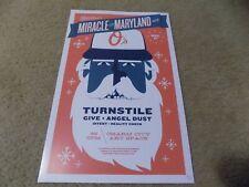 Turnstile Angel Du$t 11x17 Concert Poster Print /30 RARE