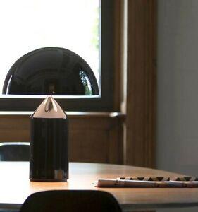 Atollo Mushroom Table Desk Bedside Lampreproduction, large, black, modern,