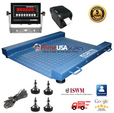 Op 917 Drum Floor Scale With Label Printer Legal Trade Ntep 2000 Lb X 5 Lb