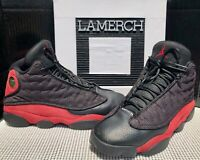 "Nike Air Jordan 13 Retro ""Bred"" 2013 Black & Red 414571-010 Size 9.5"