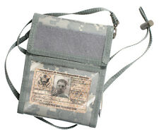ID Card Travel Passport Holder Neck Strap ACU Digital Camo Rothco 1240
