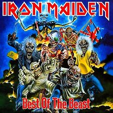 Iron Maiden - Best Of The Beast Vinyl LP Heavy Metal Sticker, Magnet