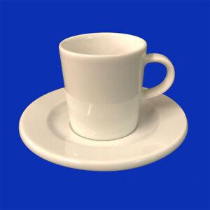 Arzberg Porzellan Espressotasse 2-tlg. Form Cult Weiß Espresso Tasse m. Untere